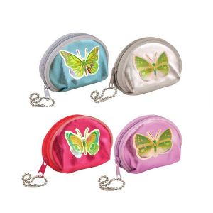 Butterfly Mini Purse - Assorted Colours (1 Supplied)